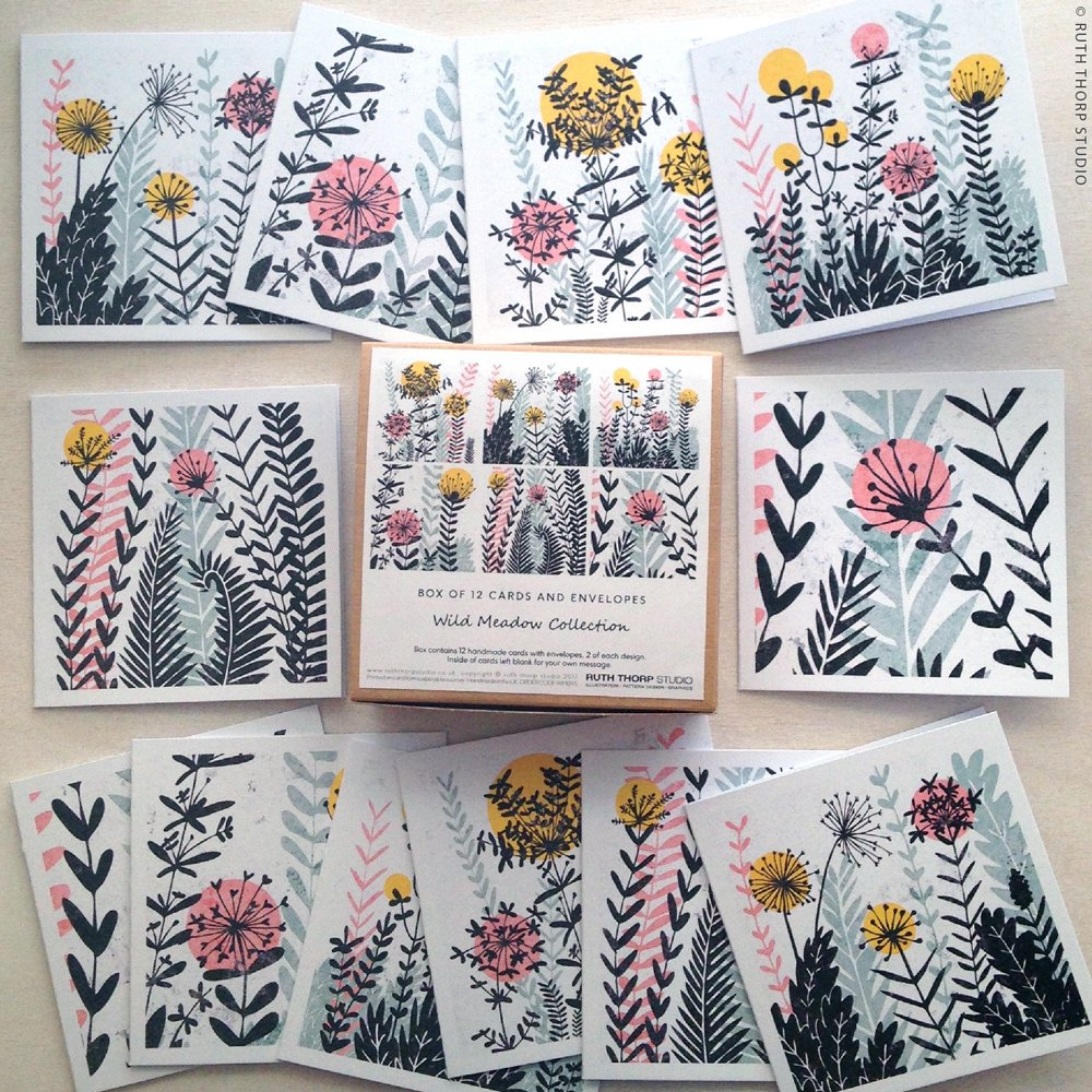 Brighten your home with Wild Meadow cards &amp; art prints  https://www. etsy.com/uk/shop/RUTHTH ORPSTUDIO &nbsp; …  #HandmadeHour #greetingcards #wallart #meadow #flowers #bees<br>http://pic.twitter.com/6qSYZPyDv6