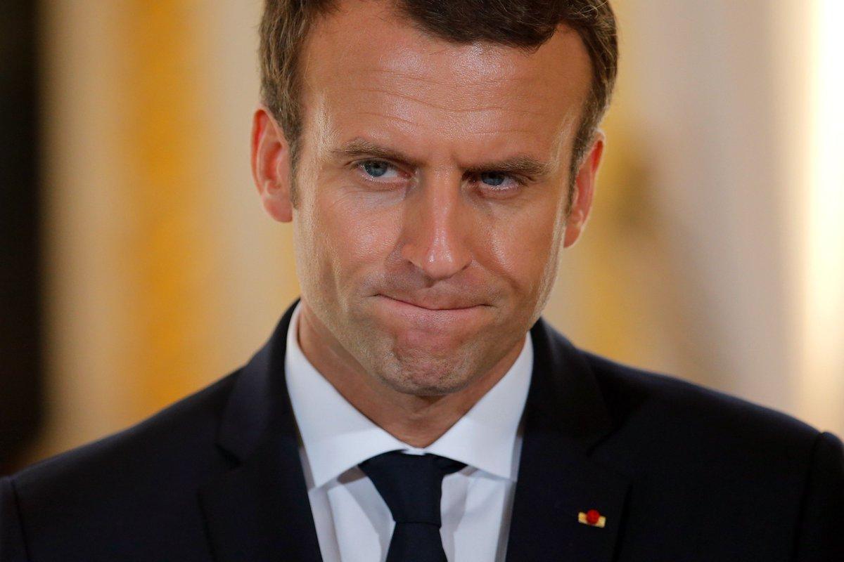 Pour #Macron, l'état de grâce, c'est terminé ! https://t.co/HLtjGVs7Q6