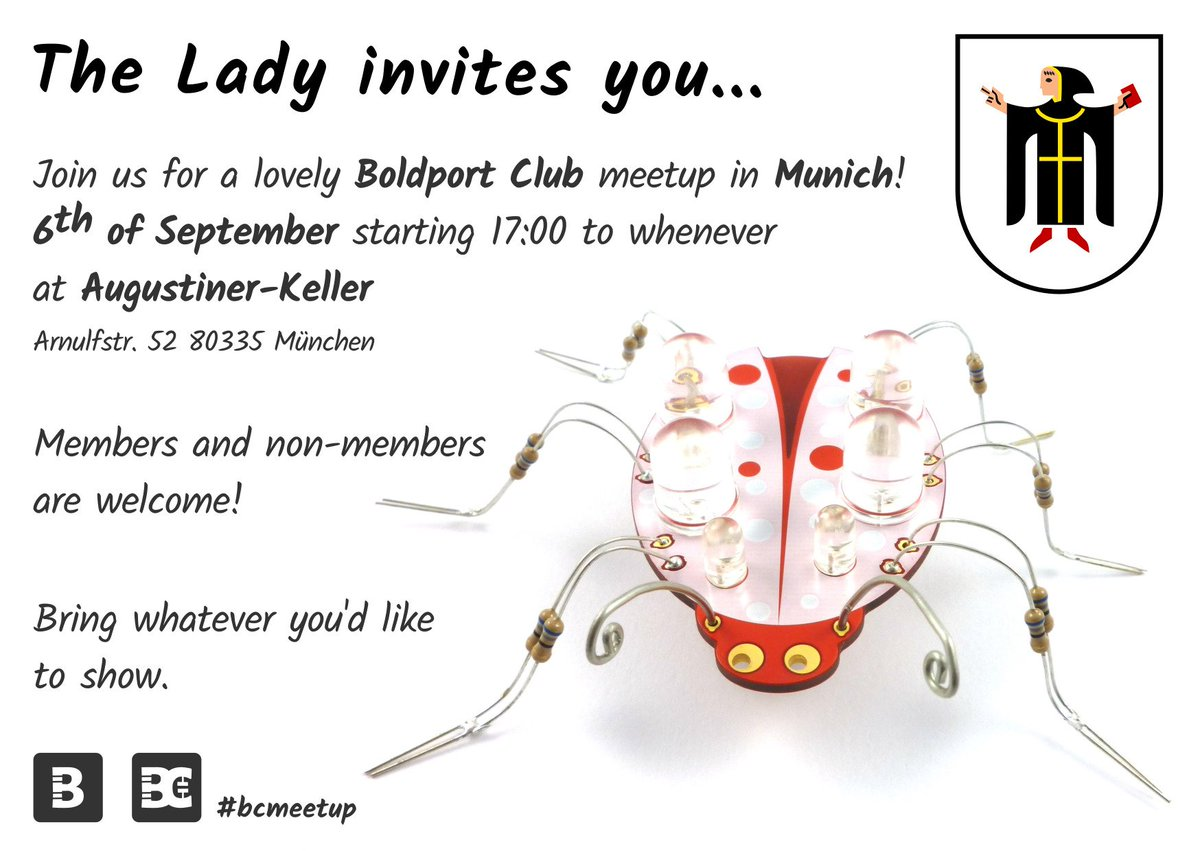 Join us at the #BoldportClub meetup in Munich! #bcmeetup