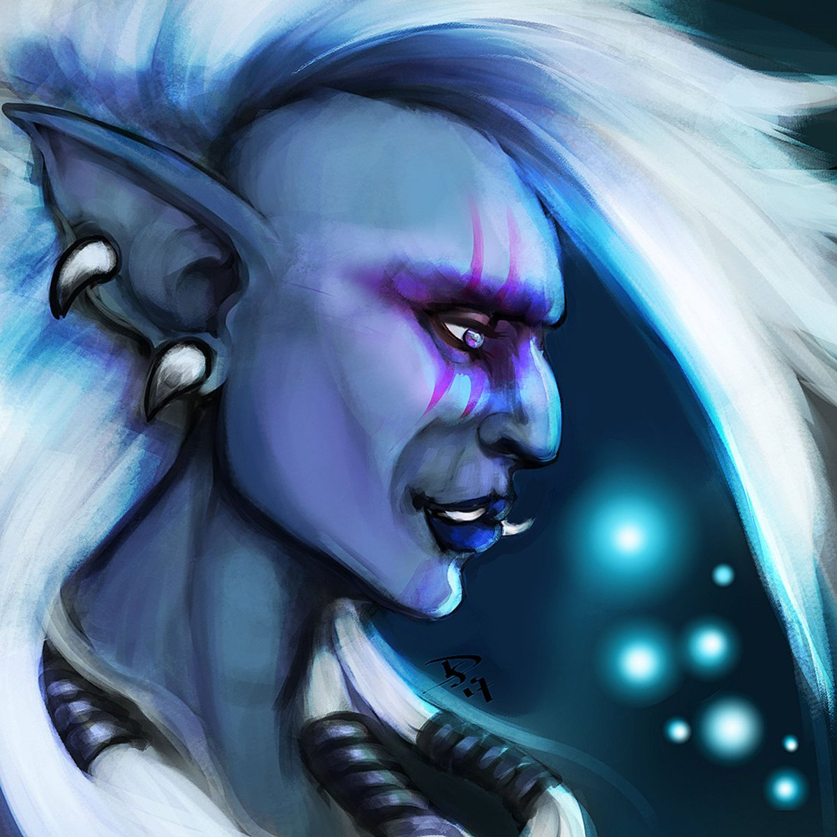 Here&#39;s an older one, of one of the trolls. #worldofwarcraft #troll <br>http://pic.twitter.com/O7ia8jg658