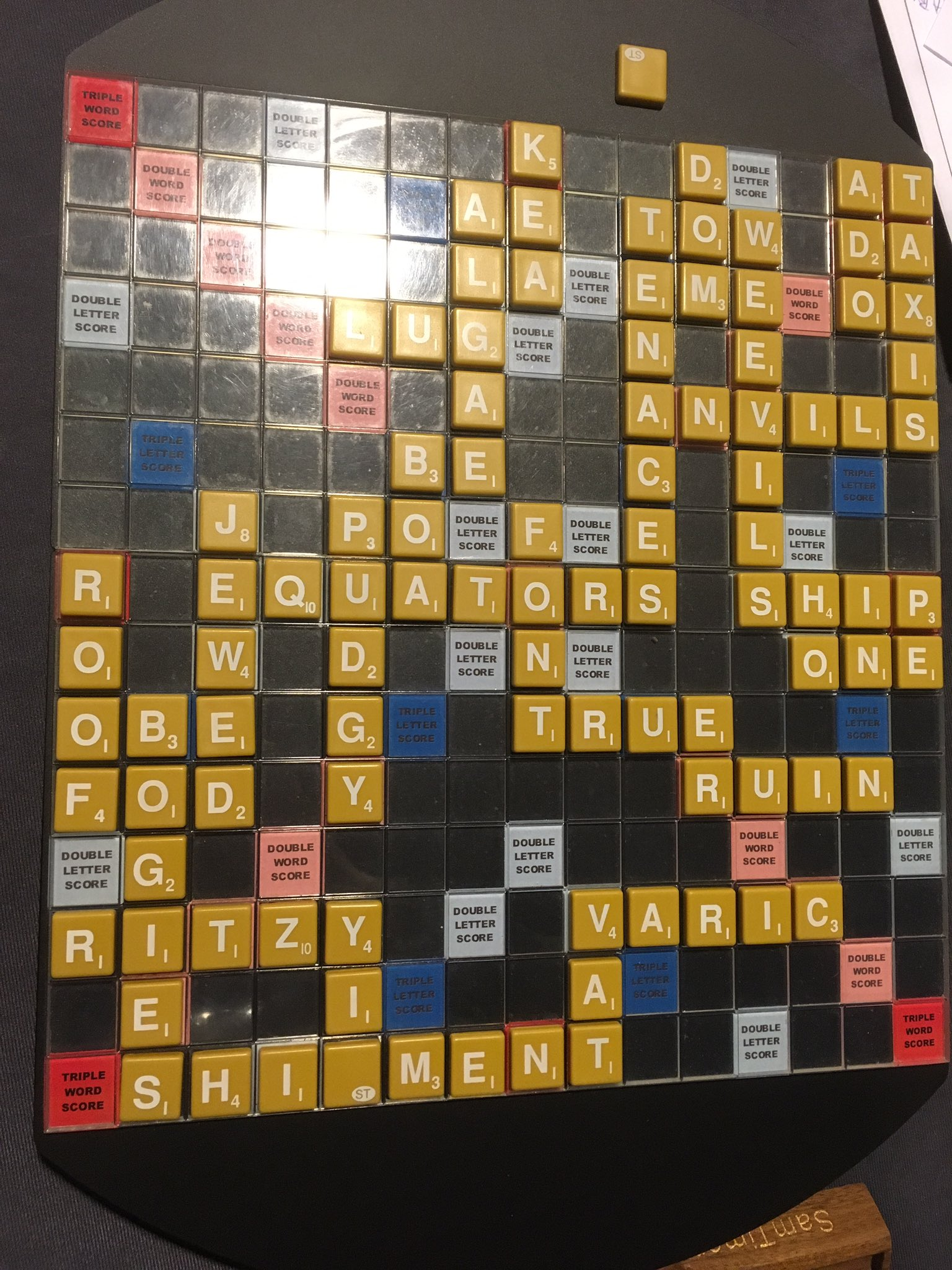 This was a particularly good game, even though I lost... #nasc2017 #scrabble https://t.co/iIZztGaoed