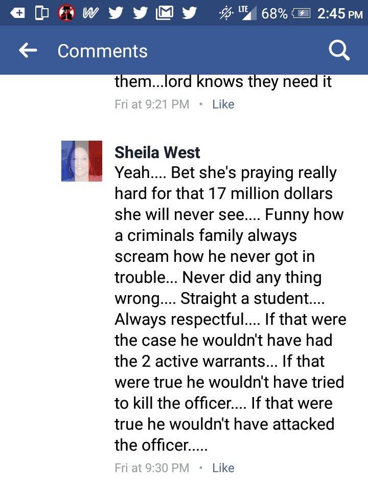They already know #ConnorSchilling is a racist coward, liar, murderer, etc. #DarriusStewart @blacqer #BlackTwitter #SundayBlogShare<br>http://pic.twitter.com/zVTgQLkqhd