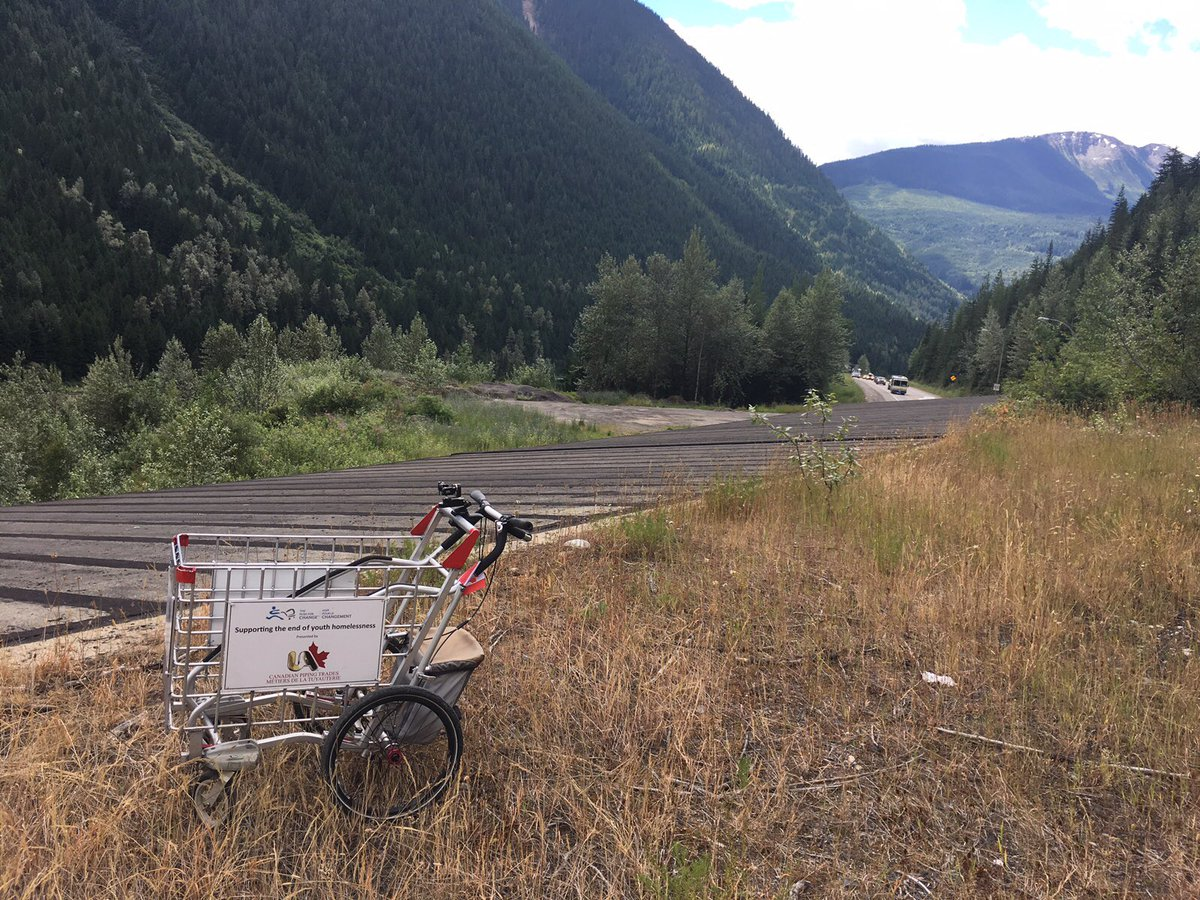 test Twitter Media - RT @pushforchange: Day 449 🇨🇦 in rural #BritishColumbia - who's keeping their eyes out for Joe on the road? 🛒 https://t.co/6mEiDTI7Q7