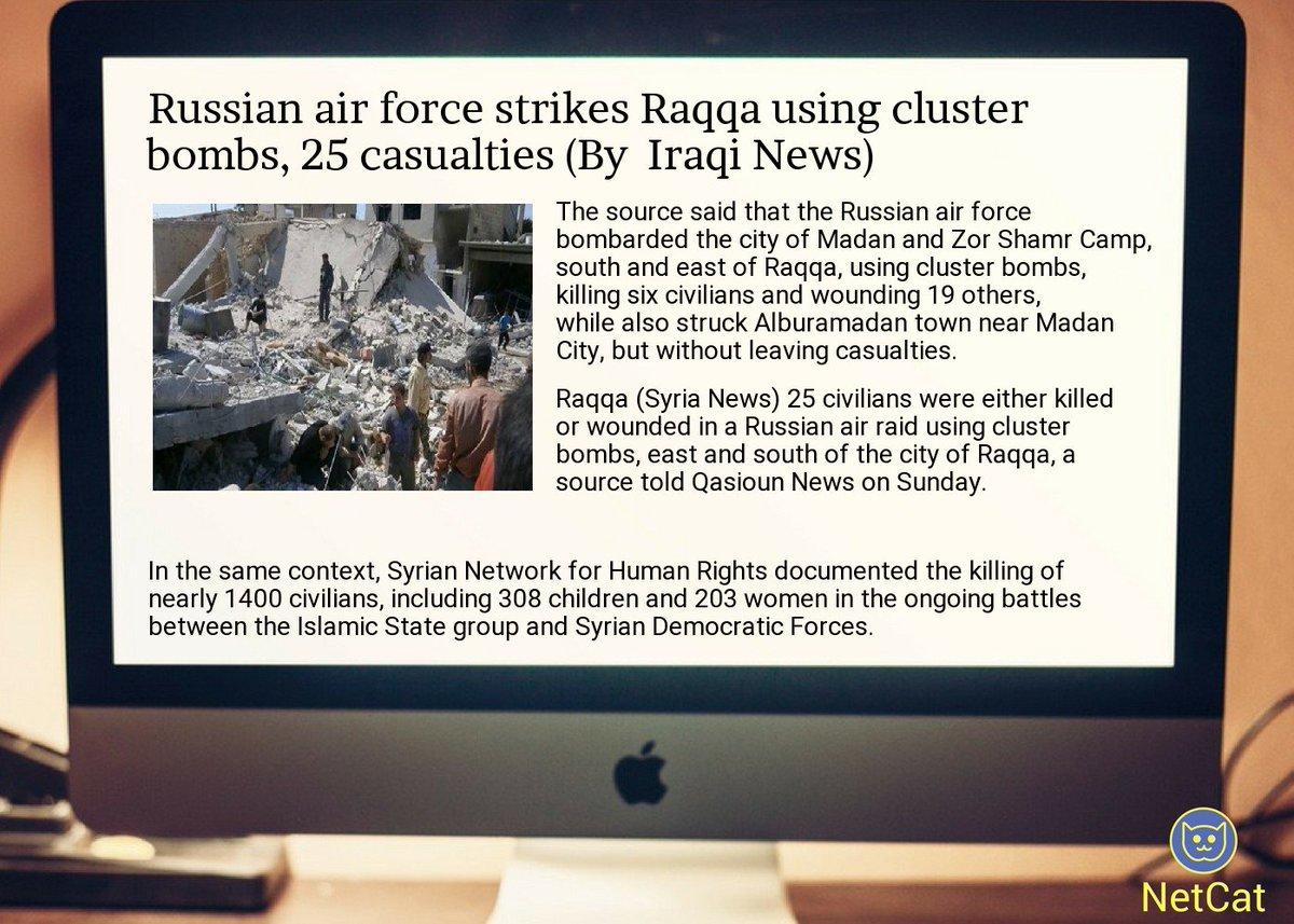 #republic #world App -  https:// goo.gl/Nv8w2F  &nbsp;   russian  #air  #force strikes  #raqqa using  #cluster  #bombs, 25  #<br>http://pic.twitter.com/fauVjul2PW