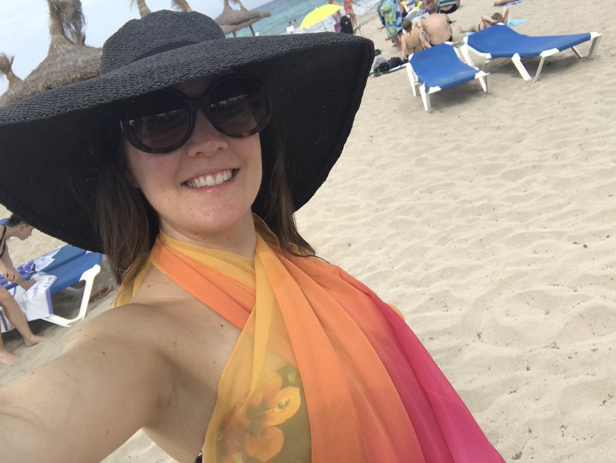Have you missed me? Had a last minute #Holiday #BabyMoon to Majorca. Lovely time #sleeping #relaxing #swimming #eating See you @GMB from 6am<br>http://pic.twitter.com/Fs7Ow7nJvW