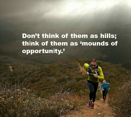 Don&#39;t think of them as hills. Think of them as mounds of opportunity. #thepowerofperspective #motivation #pushyourself<br>http://pic.twitter.com/RI2mgo3Shk