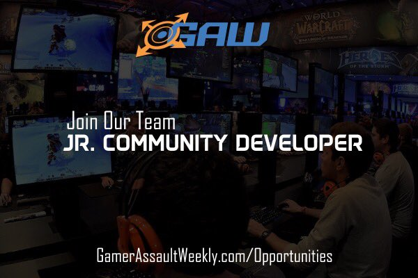 Great news! We are looking to add to our #CommunityDevelopment team! #GAW #SocialMedia #Gaming #Gamer Apply here:  http:// bit.ly/1bsVhKs  &nbsp;  <br>http://pic.twitter.com/yPjReFFNIq