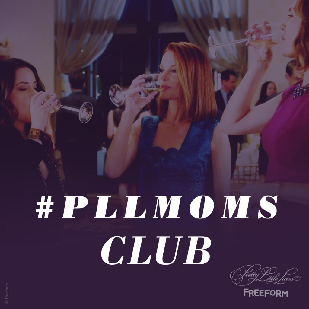 Happy #ParentsDay to the #PLLMoms. We are SO happy you got out of the basement. #PLL