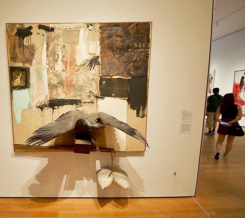 hrag on twitter robertrauschenberg s canyon 1959 can never be