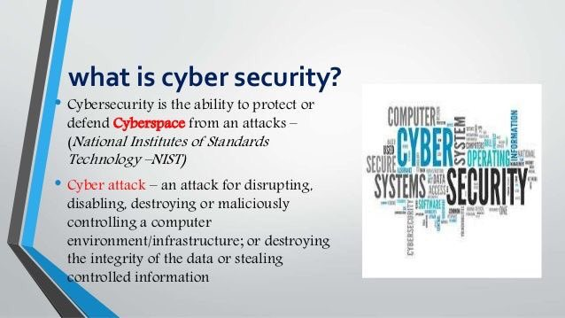 What is #cybersecurity?  http:// buff.ly/2uM6v0J  &nbsp;   #Databreach #Ransomware #Hackers #defstar5 #makeyourownlane #Mpgvip #infosec #bots #Malware<br>http://pic.twitter.com/YKhxoHjVTP