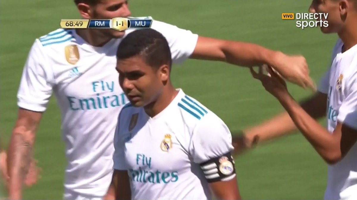 "Real Madrid Info on Twitter ""Captain Casemiro with the 1st goal"
