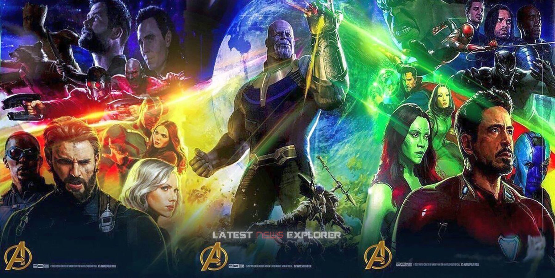 The Full Avengers: Infinity War Comic Con Poster Debuts