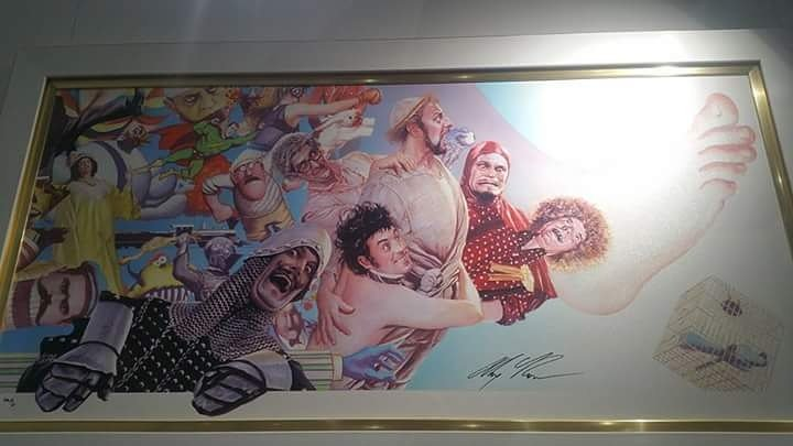 It&#39;s so beautiful! #MontyPython #JohnCleese #EricIdle #TerryGilliam #MichaelPalin #TerryJones #GrahamChapman <br>http://pic.twitter.com/dhA1O1Ekkt