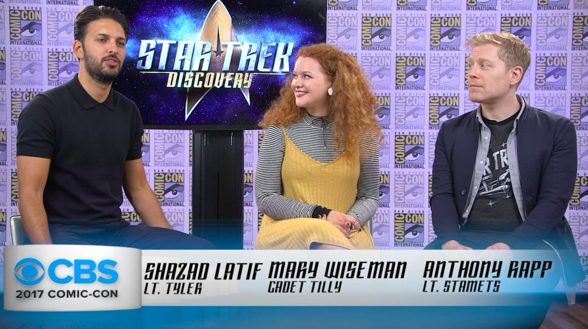 The #StarTrekDiscovery cast was shell-shocked & gobsmacked by the...