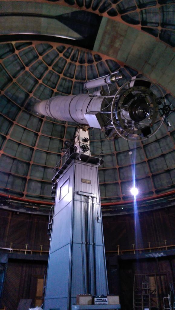 It&#39;s #sciencesunday Today was a visit to the most famous #lickobservatory<br>http://pic.twitter.com/74h8EnEIZ2
