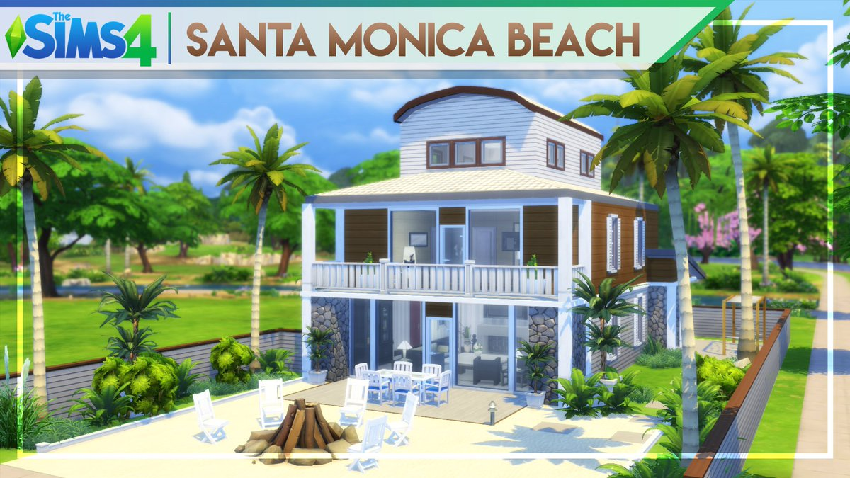 SANTA MONICA BEACH HOUSE | #TheSims4 Fully #Furnished House #Building  https:// youtu.be/KpKRj0GPECw  &nbsp;   #youtube #santamonica #beach #house #thesims<br>http://pic.twitter.com/fbY7PHpjOG