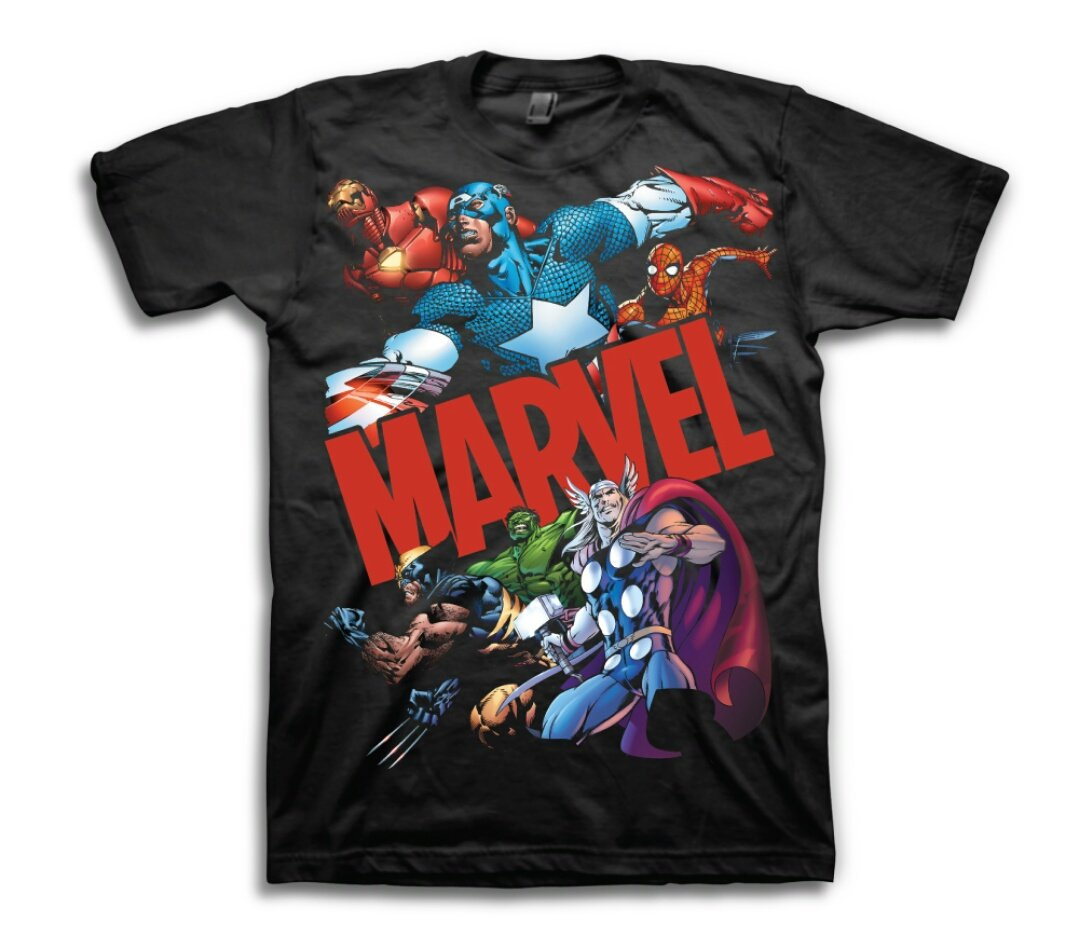 Retweet then follow us for a chance to WIN one of these T-shirt for FREE.  #marvel #hulk #avengers #thor #spiderman #ironman #disney #nick<br>http://pic.twitter.com/nZBlyrrxuc