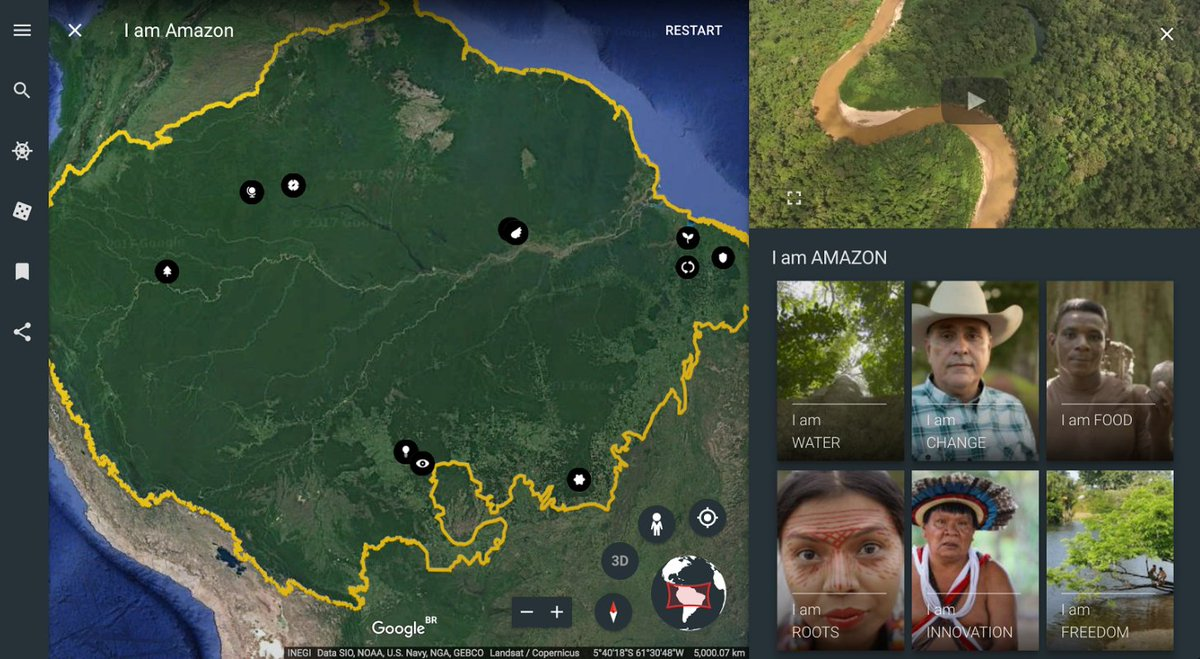 #Brazil&#39;s #IndigenousPeoples mapping deforestation on @googleearth  http:// bit.ly/2tsiqgn  &nbsp;   Visibilizing those criminalized? Read: @piqd_com<br>http://pic.twitter.com/xn4iJo9DL7