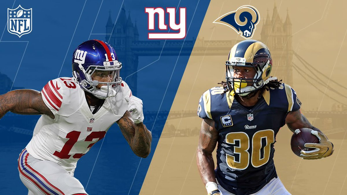 Giants return home to take on the Rams, looking to add to the win column #PlayoffHunt #GiantsPride @USFConline @leaguecrawler<br>http://pic.twitter.com/NKiZOdXhMK