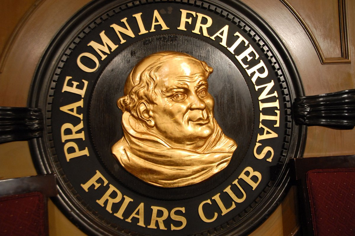 In the name of #Entertainment #hospitality #philanthropy &amp; #fraternity: @friarsclub reopens tomorrow w/ innovative new look #design #pride<br>http://pic.twitter.com/bWSt8ZJCHL