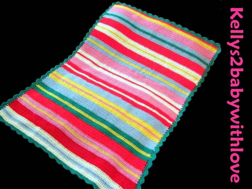 Handmade Country Style Multi-Coloured Striped Crochet Baby Blanket - Nurs…  http:// etsy.me/2qIqU5M  &nbsp;   #Blanket #Crochet<br>http://pic.twitter.com/X9I3VKIMlX
