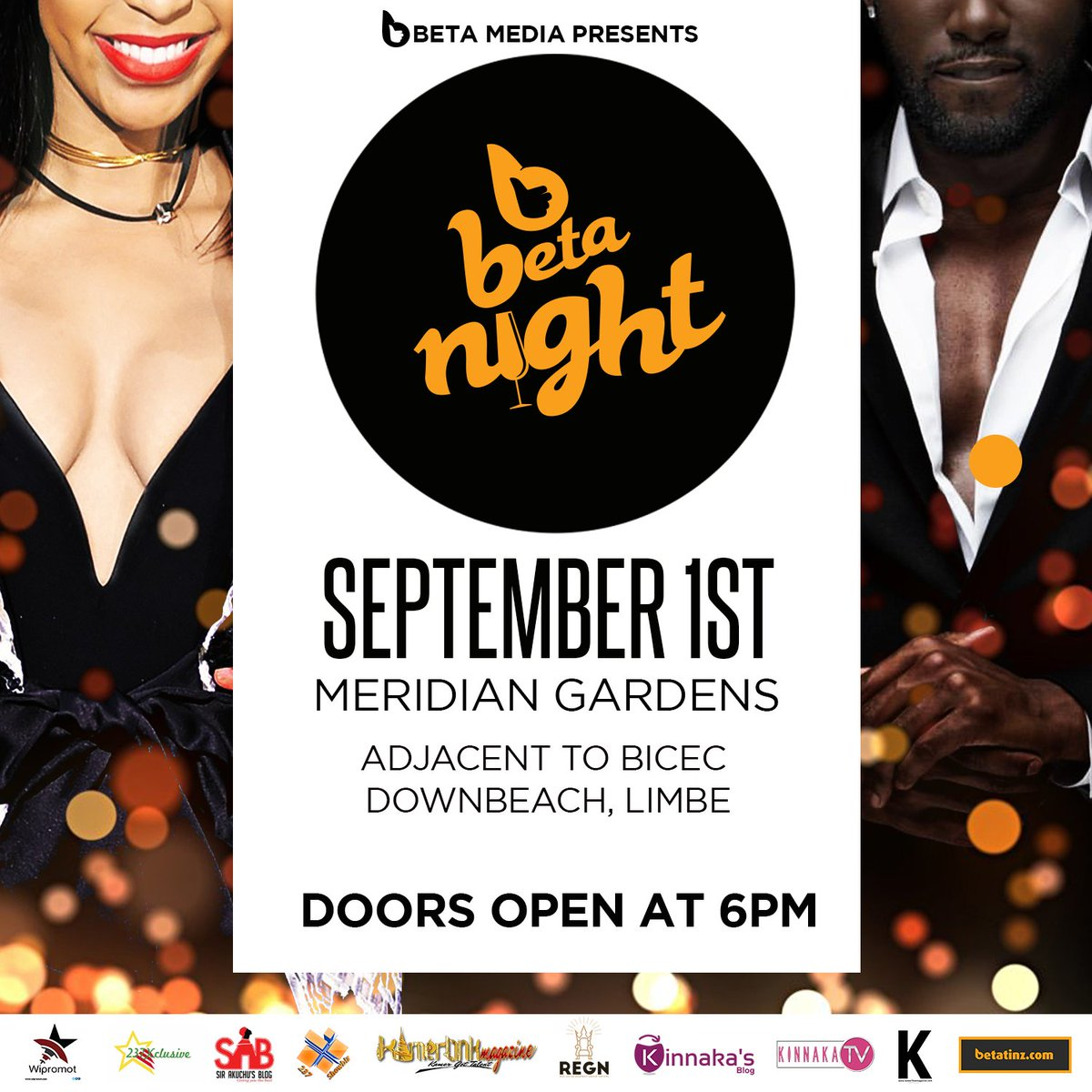 Let&#39;s have an awesome night in Limbe  #BetaNight || Meridian Gardens - Down Beach  #VIP #Party #Lifestyle #Network <br>http://pic.twitter.com/jh5hmAE7dj