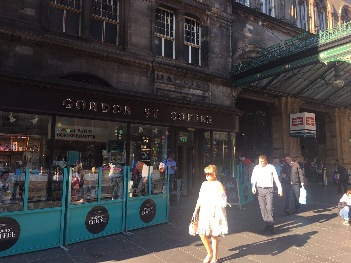 Gordon St Coffee On Twitter Cracking Day Here In Glasgow