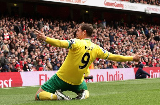 8 years ago today we signed this man. Bought by the fans, played for the fans.  Legend. #ncfc @Grantholt31<br>http://pic.twitter.com/wdAj50Q3PL