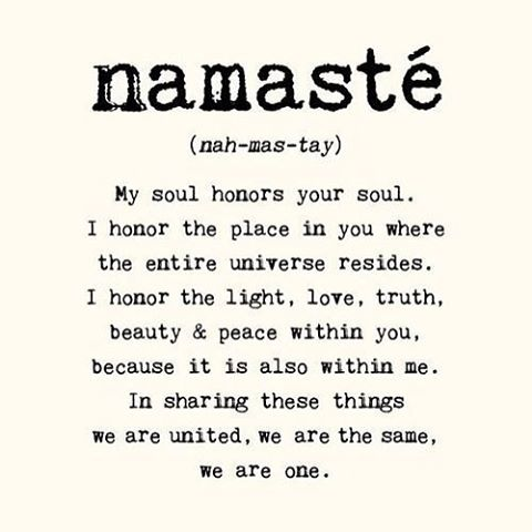 The real meaning and significance of the word &quot;#Namaste&quot; in India. It&#39;s just incredible... #MondayMotivation #quoteoftheday #thoughtoftheday<br>http://pic.twitter.com/Zu0Il14cv2
