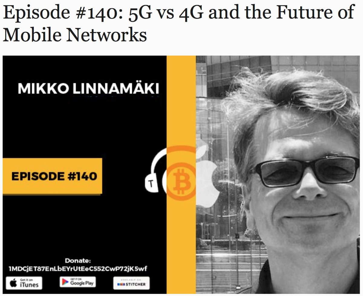 Co-Founder Mikko @ #thebitcoinpodcast about @dentcoin #cryptocurrency #blockchain #ethereum #ICO #token #bitcoin #TokenSale #data #mobile<br>http://pic.twitter.com/dEZI6KMxcy