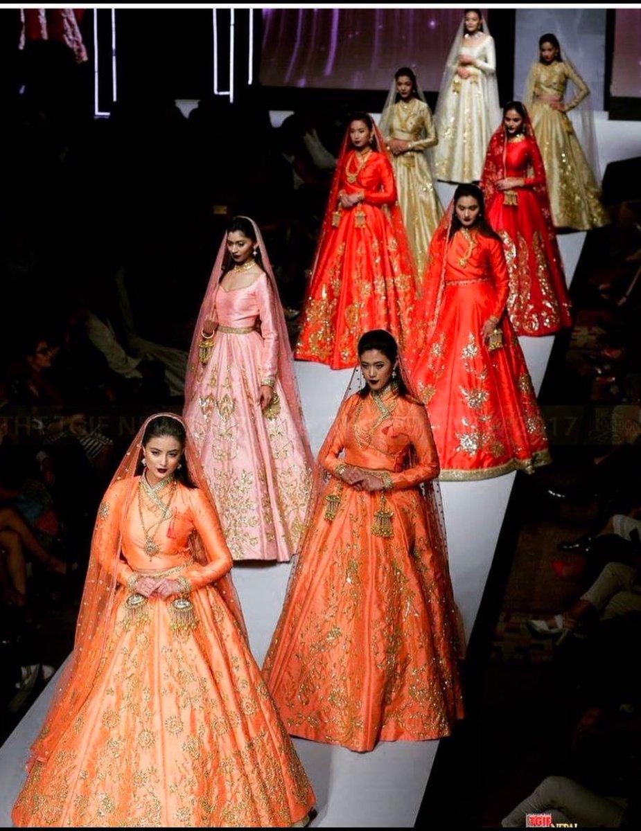 Niti Shah On Twitter Good Old Days Nepal Fashion Week 2017 Flaunting Manish Rai