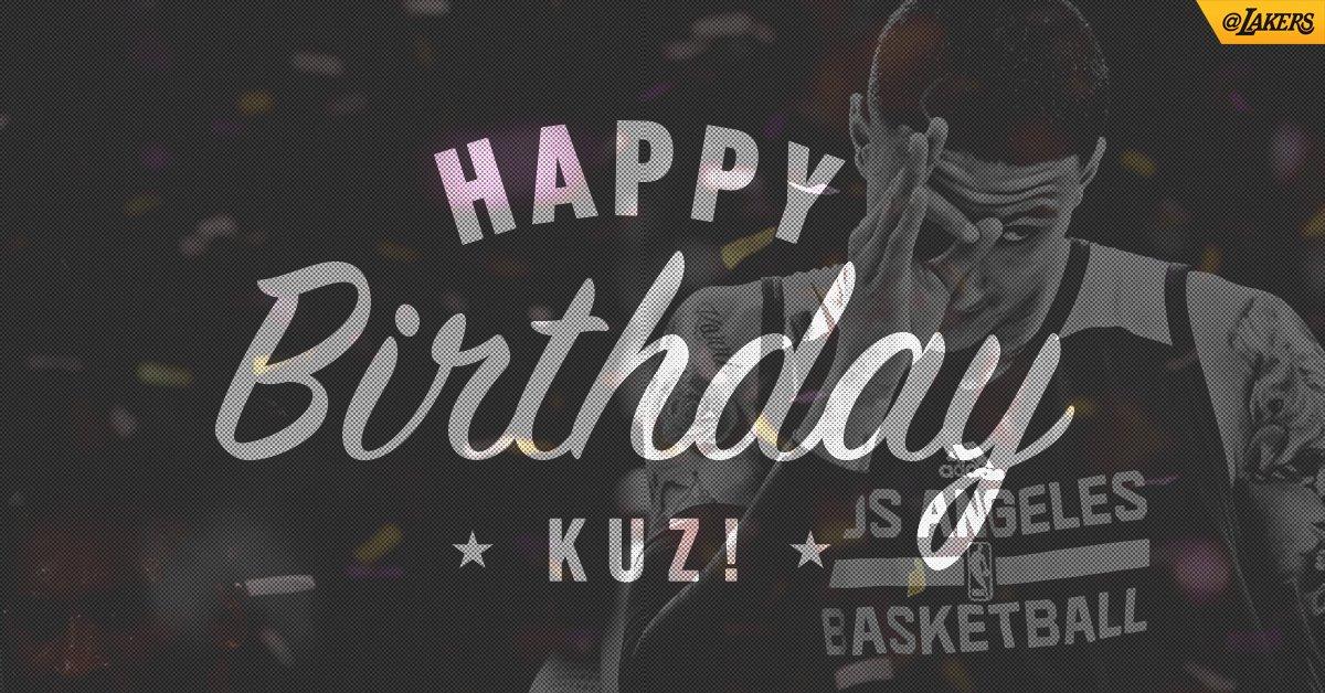 Join us in wishing @kylekuzma a happy 22nd birthday!! 🎉 #KuzControl