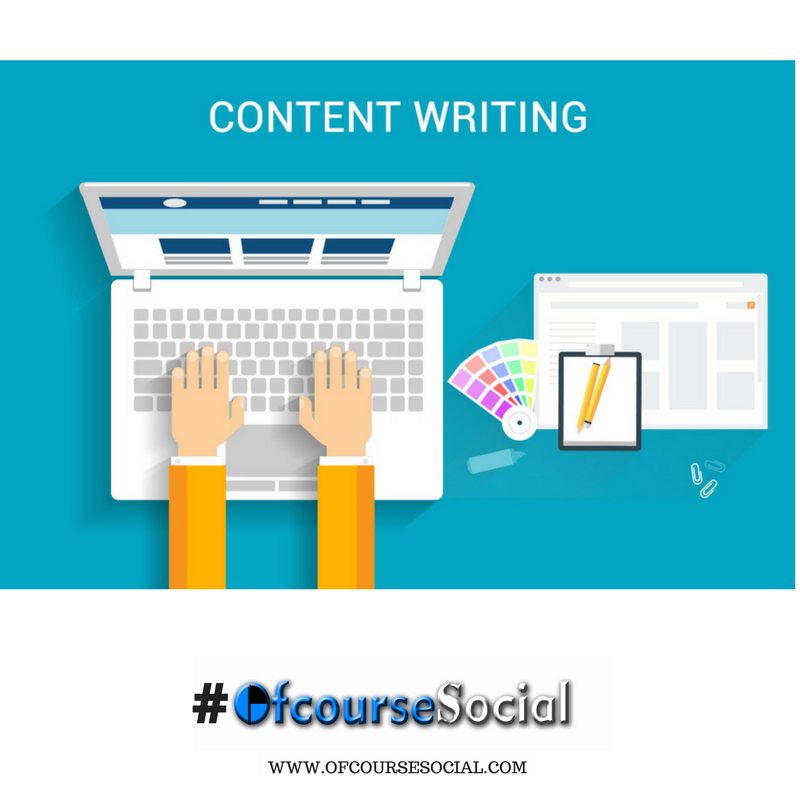 #Contentwriting is the process or placing the right words at the right places. Create it with us athttp://www.ofcoursesocial.com/ #business<br>http://pic.twitter.com/SmxTfDHGNo
