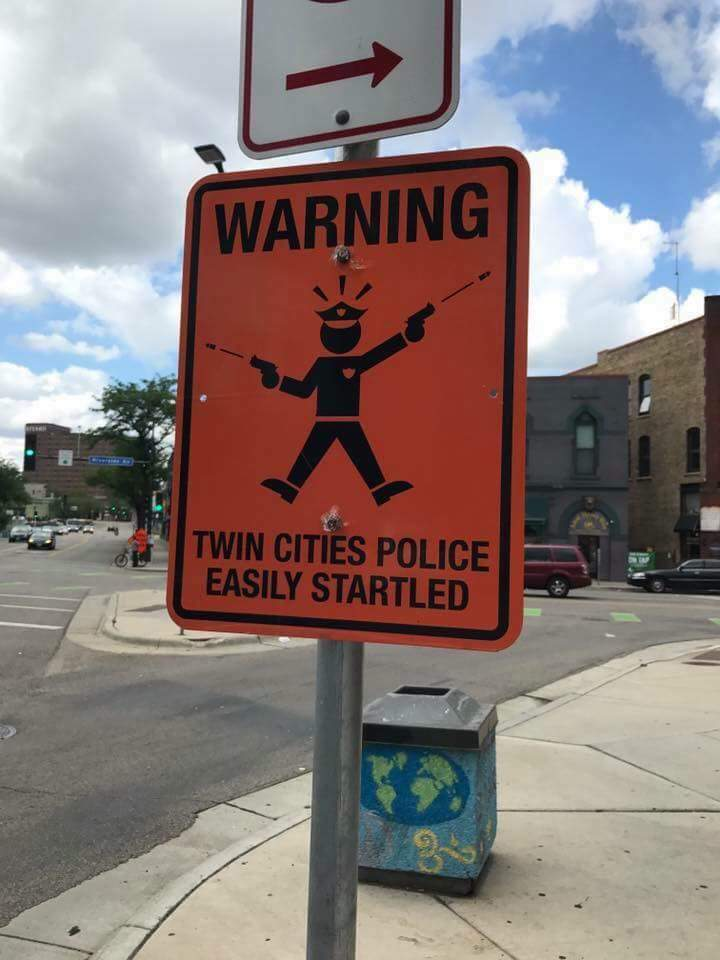 More of these #street #signs are popping up at different intersections in the #MPLS #STPAUL area. I feel they hold truth! #MN #Minnesota #<br>http://pic.twitter.com/0jncLRxP3D