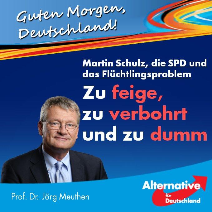 Prof Dr Jörg Meuthen على تويتر Guten Morgen Ganz