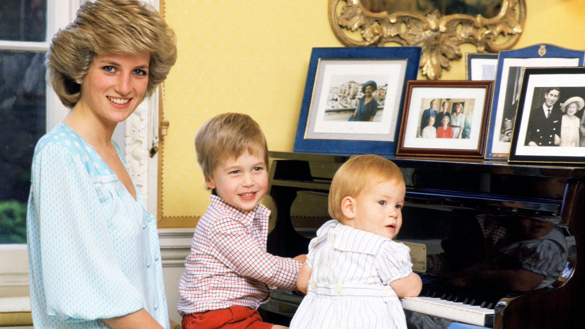 SAfm News On Twitter 20 Yrs Since The Death Of Princess Diana Her Sons William Harry Have Been Speaking Candidly About Their Grief In A TV Doccie