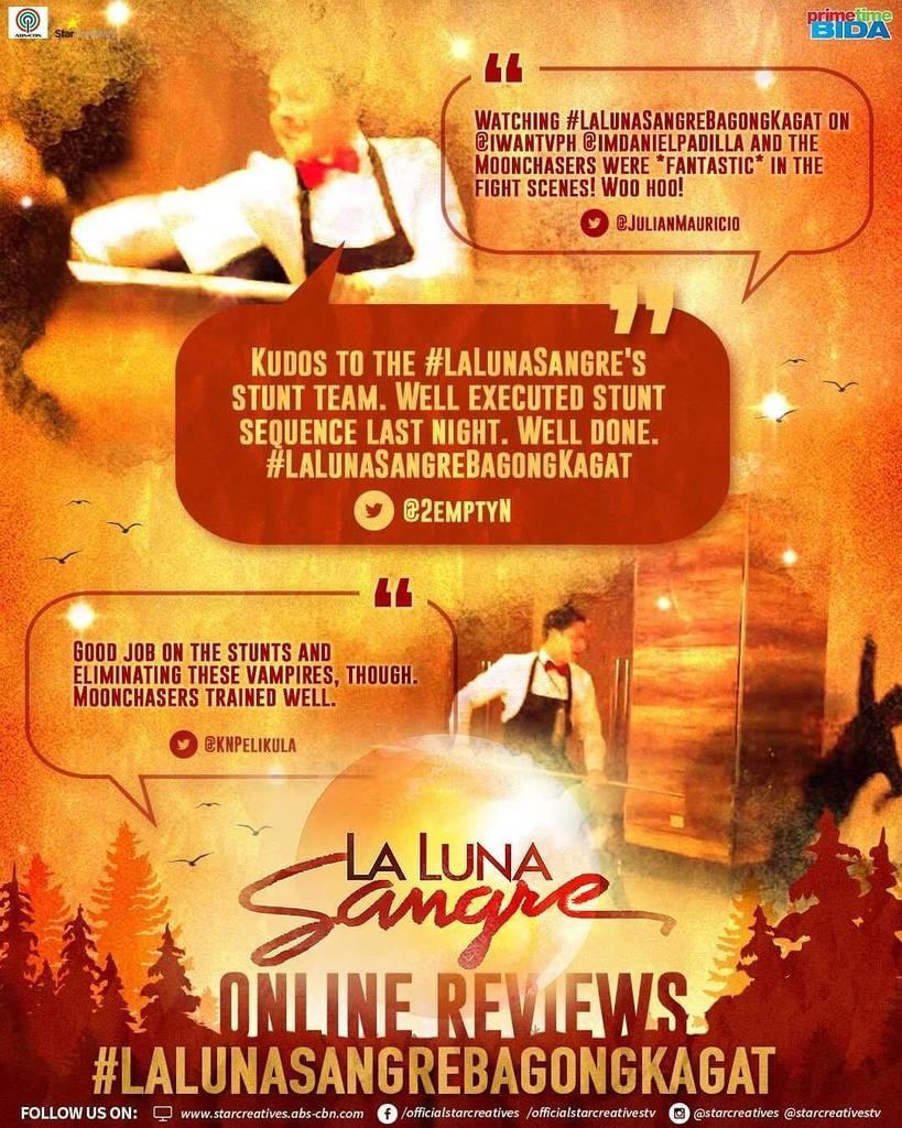 Awesome stunts 👍🏻 #LaLunaSangreHinala