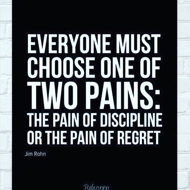The Pain of Discipline weighs Ounces The Pain of Regret weighs Tones.  #MondayMotivation #Discipline #Inspiration <br>http://pic.twitter.com/Qf1sKeaVny