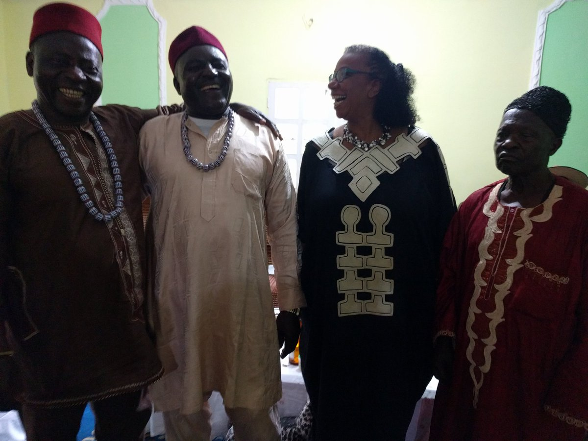 Our own @babettesffest with Kings of the Menoua #Cameroon #Dschang @tastecameroon https://t.co/VH0gMNX8er