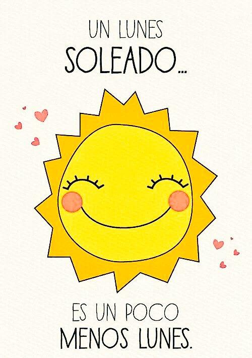 #FelizLunes ¡A que sí! Que tengáis muy #BuenosDías https://t.co/KfkEvNYwNS
