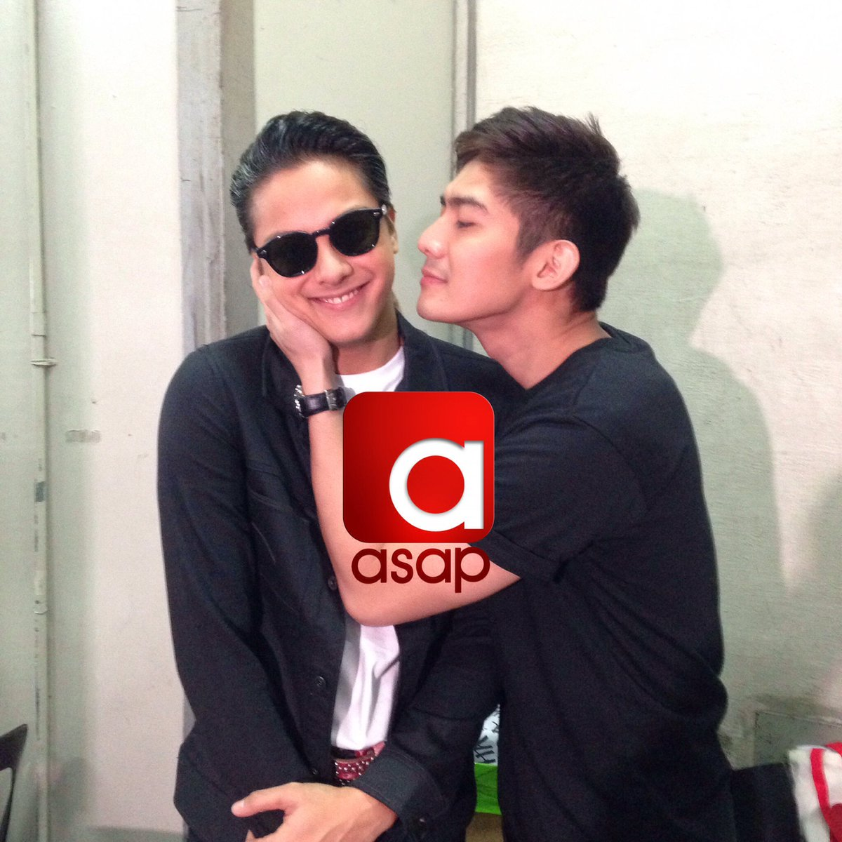 Unstoppable backstage kulitan ng mag bros, Daniel and Robi! 😄😂🎉 #ASAPBigBlowout