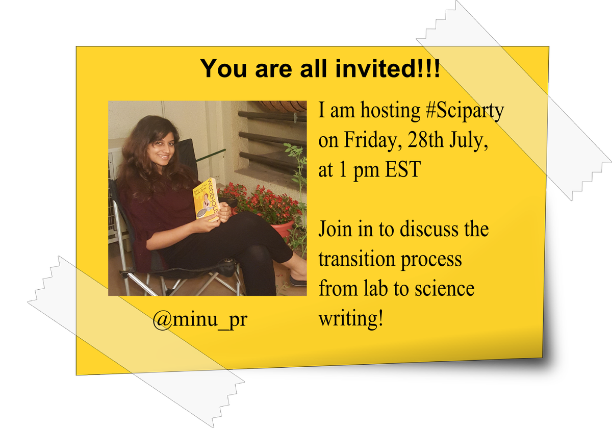The invitations for #sciparty are out! <br>http://pic.twitter.com/nxXgwiYDWM