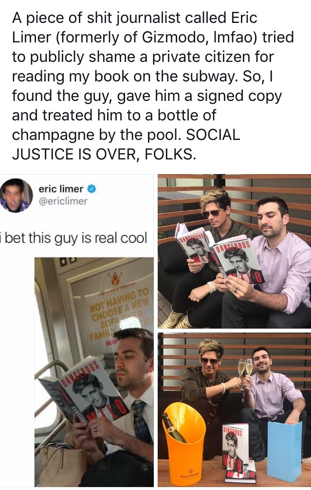 😂🤣 Milo found the dude that @ericlimer decided to shame!