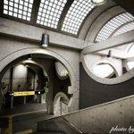 京阪宇治駅が建築好きを唸らせる建物だということは、もっと多くの人に知られるべき。コンクリートと曲線と…