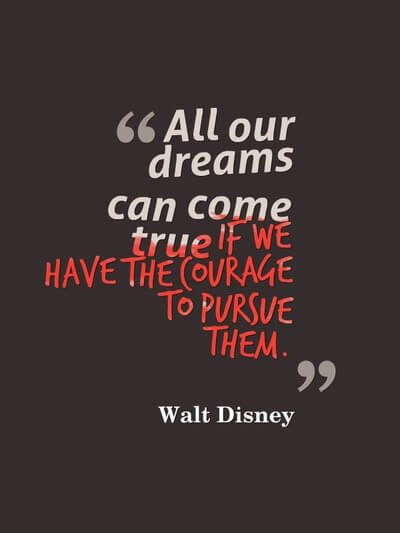 #MotivationMonday &quot;All our dreams can come true if we have the courage to pursue them&quot; Motivation from Walt Disney #LiftOffFilmFestivals<br>http://pic.twitter.com/EXK50xA2uB