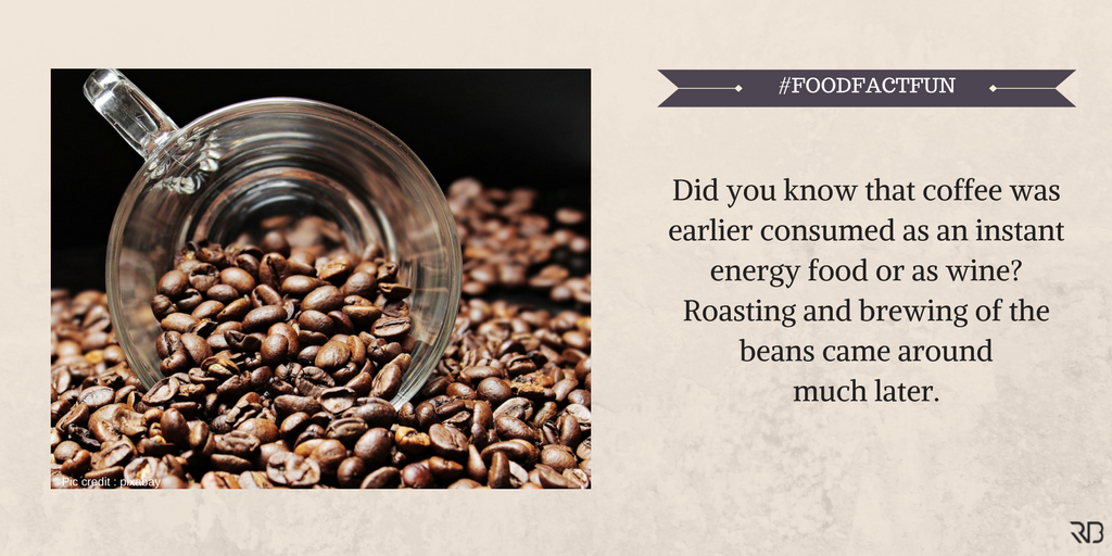 Ans : True..coffee was the first food to be freeze-dried to improve its shelf life. #FoodFactFun #FoodFacts #DidYouKnow <br>http://pic.twitter.com/LagM3EjwQJ