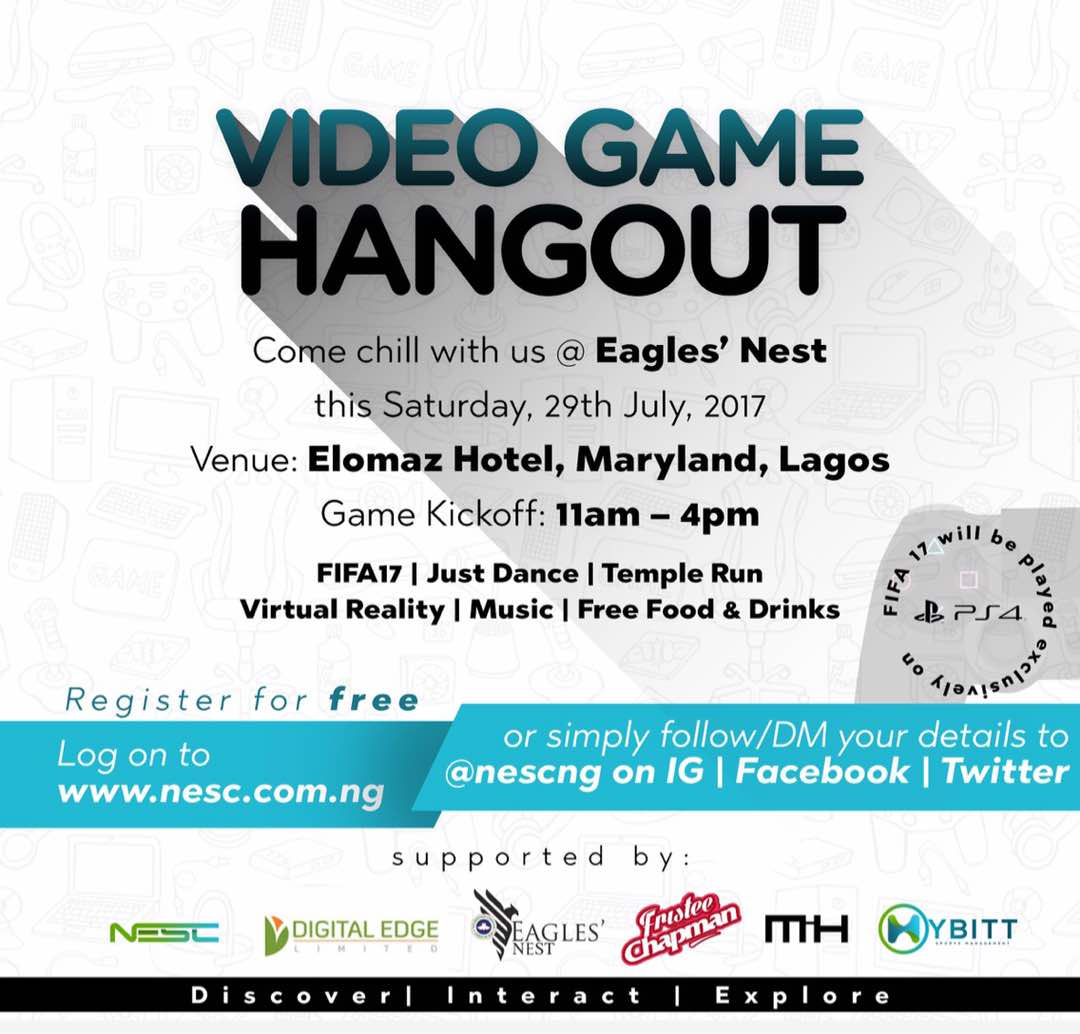 Come chill with us at @rccgenest this Saturday. #gametime2017 #esports #hangout #fifa17 #templerun #justdance #ps4<br>http://pic.twitter.com/0IdruVfvQr