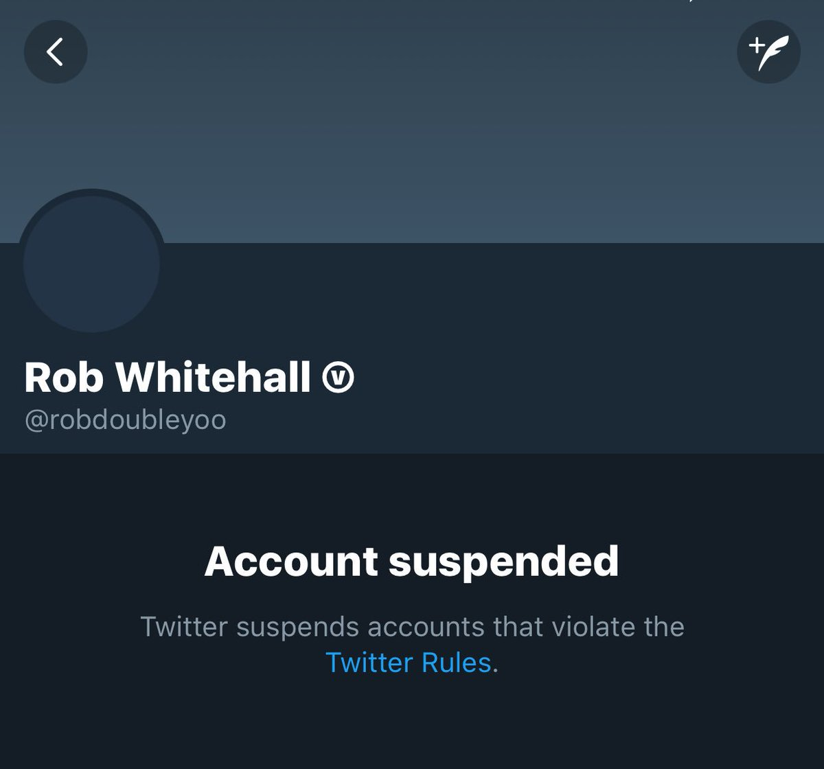 @TwitterSupport why is @robdoubleyoo suspended! Please reinstate, only tweet for #animal #rights we need this account back!<br>http://pic.twitter.com/e0y4TVjowg