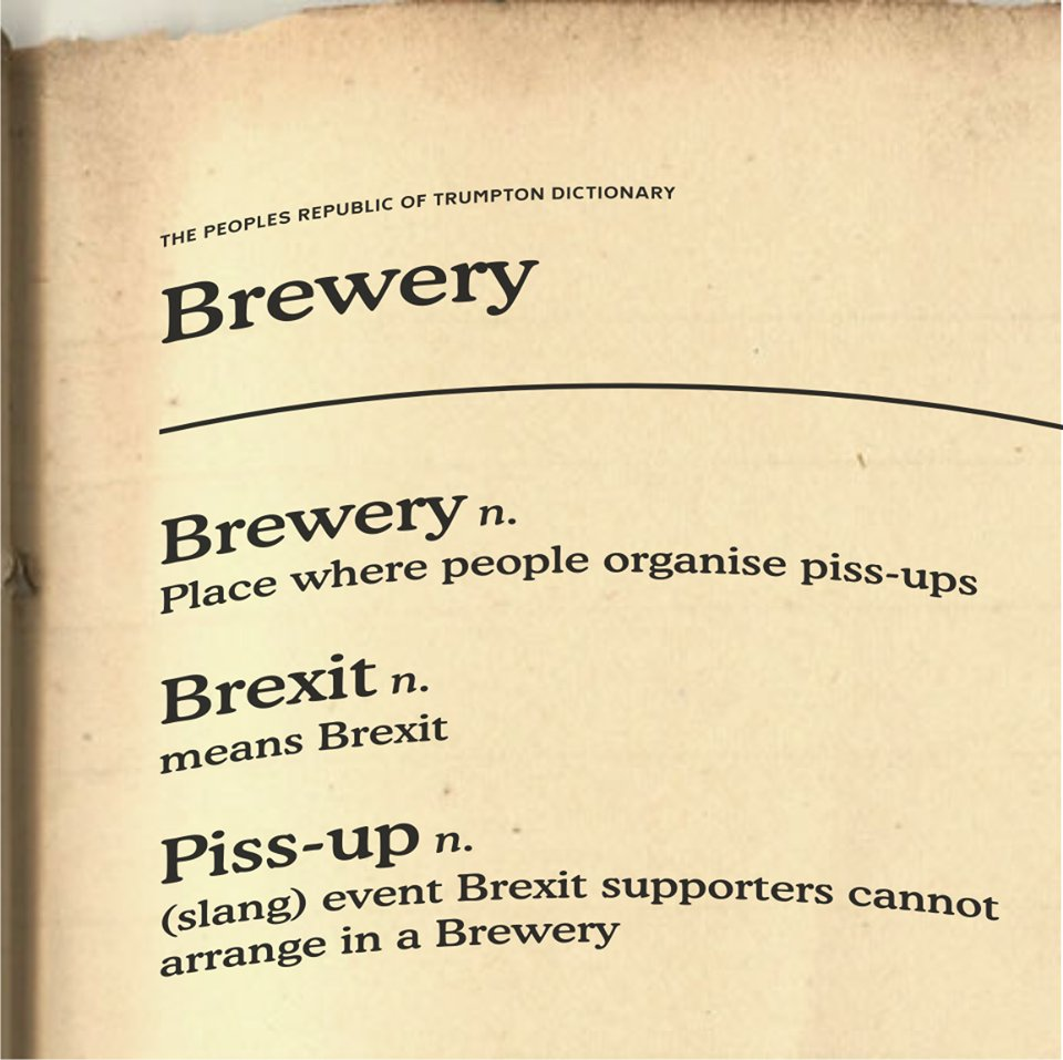 This still seems relevant a year on ...  What does Brexit mean?  #WorstDictionaryDefinitions