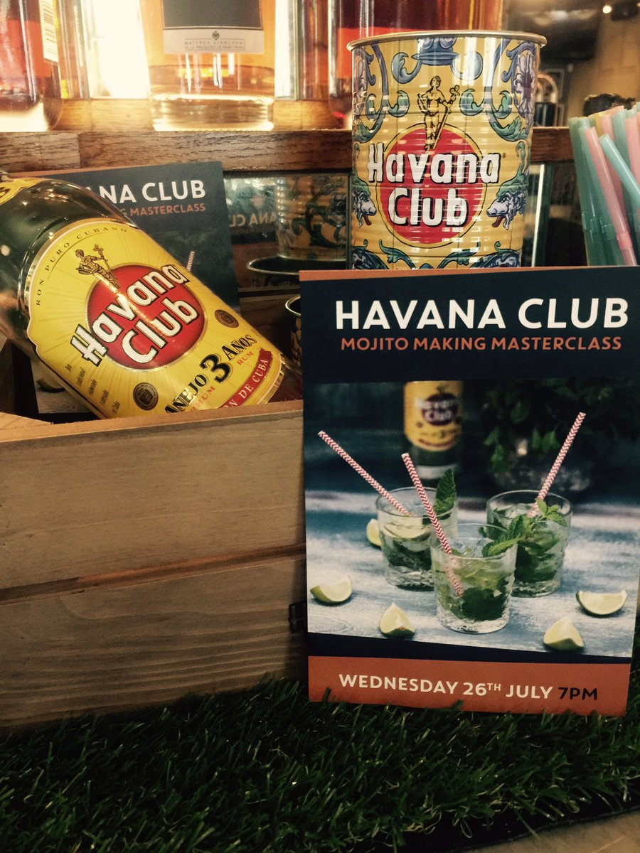 LIKE &amp; RETWEET for a chance to #win 2 tickets to our @HavanaClub_UK mojito Masterclass event on Wednesday! #Competition <br>http://pic.twitter.com/oAVhVuMsrB